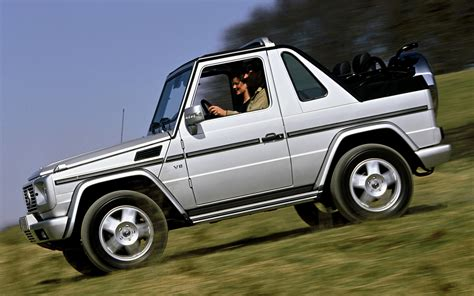 Mercedes G Class Cabriolet by 2002 Mercedes G Class Cabriolet Wallpapers And Hd