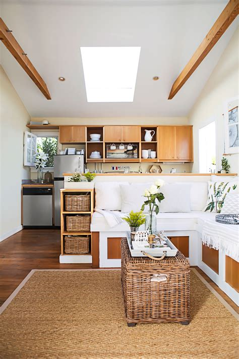 House Tour: 362 Square Foot Home Small Space Design
