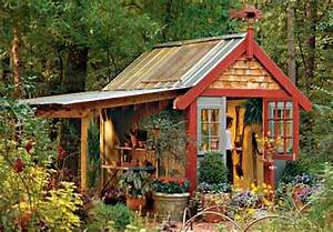 Wood Working Designs – Potting Shed Plans For More Storage