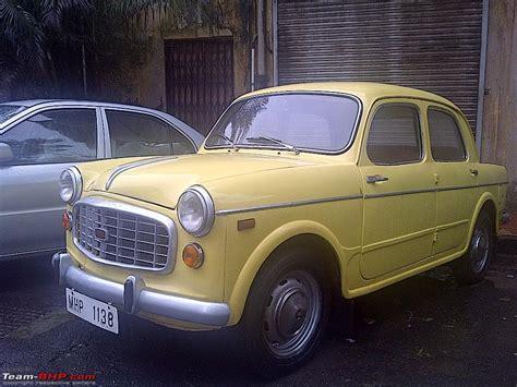 fiat classic car club mumbai page 248 team bhp