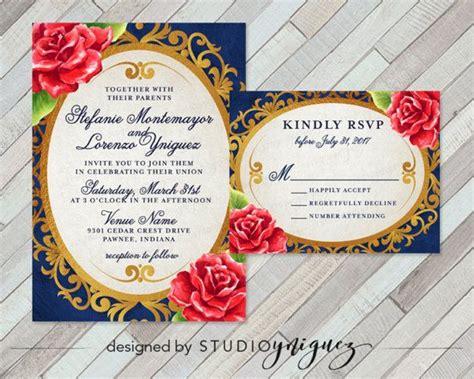 Beauty and the Beast Fairy Tale Printable Wedding