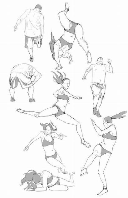 Drawing Poses Log Deviantart Action Pose Reference