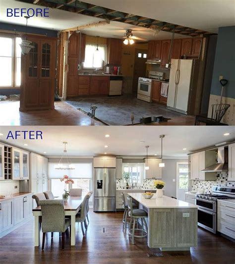 choosing good split level kitchen remodel open concept