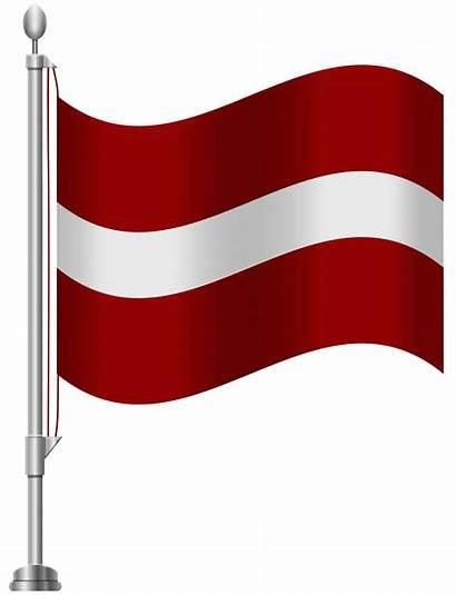 Flag Latvia Clip Clipart Latvian 1818 Clipground