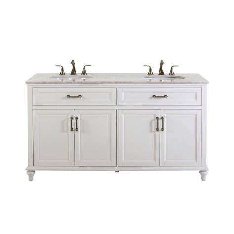 home depot white vanity home decorators collection charleston 37 in w x 39 in h