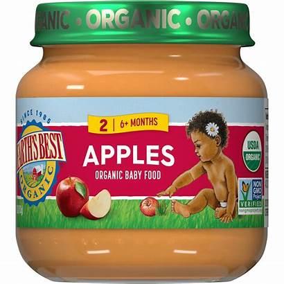 Apples Organic Earth Jarred Stage Eb
