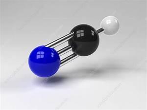 Hydrogen Cyanide Molecule  Artwork  5061