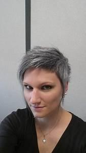 Coupe Courte Femme Cheveux Gris : cheveux court gris ~ Melissatoandfro.com Idées de Décoration