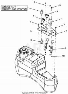 Gravely 991080  030000 - 039999  Pro-turn 152 Parts Diagram For Control Panel