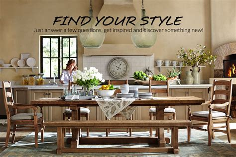 pottery barn careers style finder quiz pottery barn