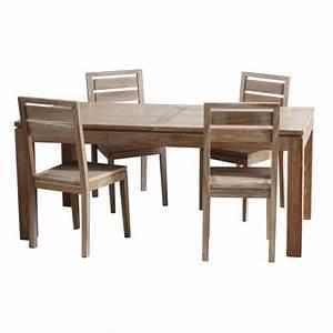 Table Extensible Salle A Manger : table repas extensible en teck macao origin 39 s meubles ~ Teatrodelosmanantiales.com Idées de Décoration