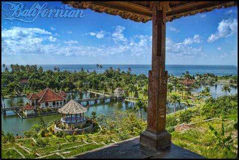 balis royal water palace taman ujung soekasada blog