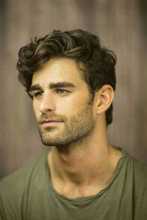 how to style mens hair mens wavy hairstyles mens hairstyles 2018