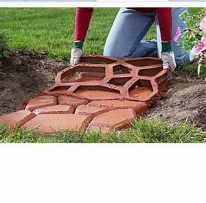Fitnessgeräte Selber Bauen : betonform schalungsform gehwegplatten plastikformen 44 x 44 x 4 cm ~ Frokenaadalensverden.com Haus und Dekorationen