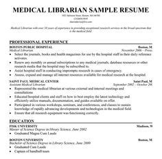 Academic Librarian Resume by 1000 Images About Resumes On Resume Administrative Assistant And