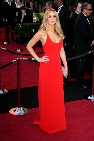 Jennifer Lawrence Calvin Klein 2011 Oscars | Dresses, Red ...