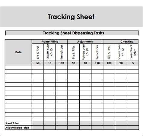 sample editable tracking sheets  google docs