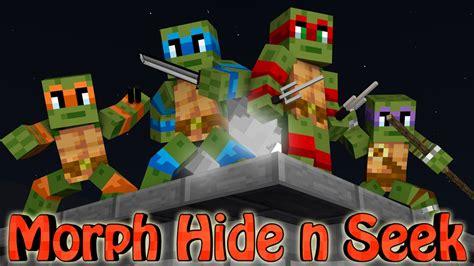 minecraft mods morph hide  seek teenage mutant