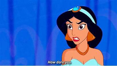 Jasmine Aladdin Disney Princess Gifs Princesses Fight