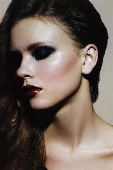 dramatic eye makeup   die  fashion daily