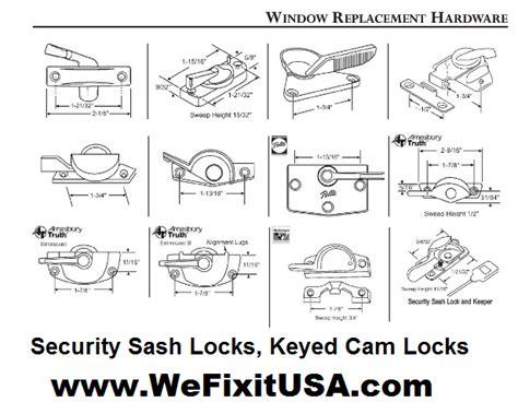 window hardware replacement parts sash locks keepers latches marvin window  door parts