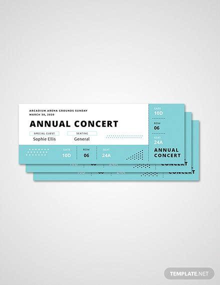 ticket templates  ready  templatenet