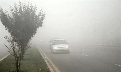 biting cold weather  dense fog disrupts life