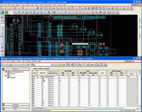 OrCAD PCB Designer file extensions
