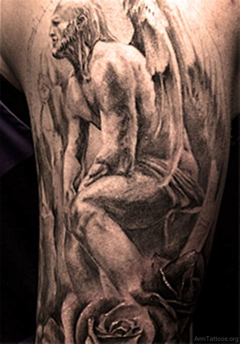 75 Best Angel Tattoos For Arm