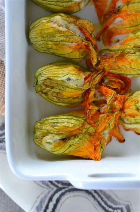 cuisiner fleur de courgette fleurs de courgettes au four farcies à la ricotta
