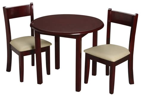 gift childrens cherry table with 2 matching