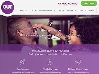 outsurance life insurance  sa sky insurance