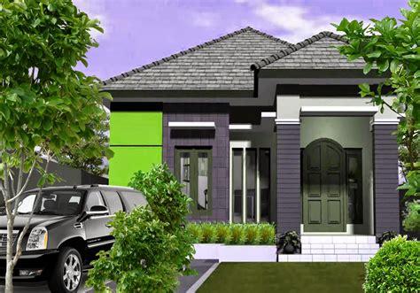 model rumah mewah minimalis tampak depan