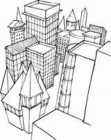 Coloring Buildings Building Pages Lego Blocks Printable Freecoloringpagefun Popular Colorings sketch template