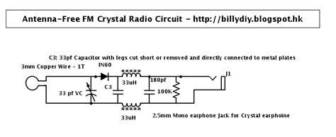 First Hopefully Working Crystal Radio The