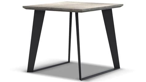 concrete top end table adal concrete top side table gray zuri furniture