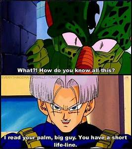 Dragon Ball Z K... Dragon Ball Cell Quotes