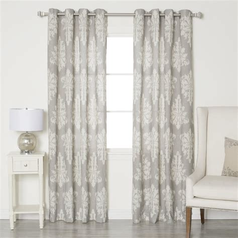 Grommet Curtains by Best Home Fashion Inc Linen Blend Grommet Top Curtain
