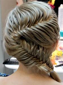 braided hairstyles - fishbone braid | trendy-hairstyles ...