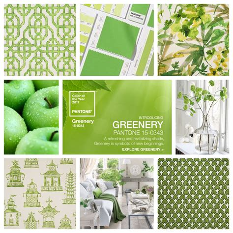 pantone has announced it s color of 2017 greenery what