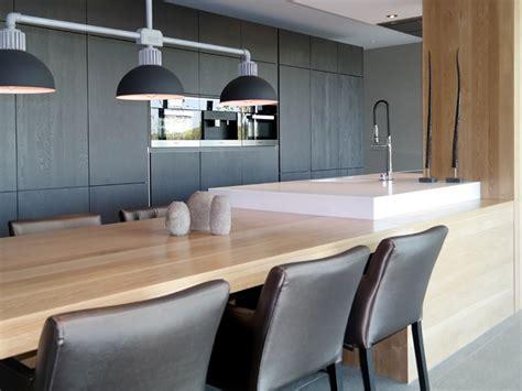 Keuken Met Kookeiland En Tafel by Keuken Met Kookeiland En Tafel In Verlengde Interieur