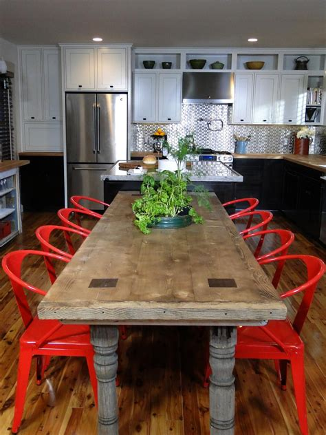 diy kitchen table and chairs design ideas for eat in kitchens diy