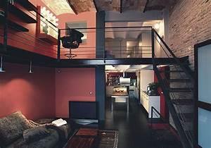 Chambre Deco Industrielle : d co loft industriel d coration style industriel ~ Zukunftsfamilie.com Idées de Décoration