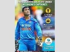 Infographic Infographic India's landmark feats under MS
