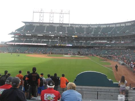 oracle park section  san francisco giants