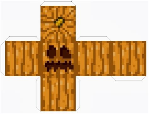 Pumpkin Faces To Carve by The Life And Times Of Rixie The 4th Minecraft Pumpkin