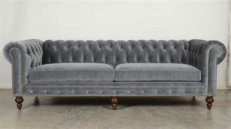 chesterfield sectional sofa ship chesterfield in cannes grey cloud