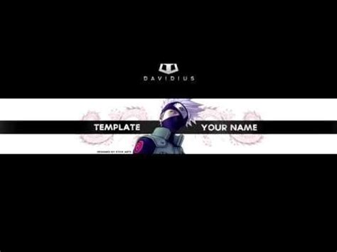 Anime Channel Banner Template Free Anime Banner Template