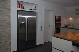 Side By Side Kühlschrank Einbauen : insell sung mit eingebauten ger ten und aufgesetzter theke ~ Michelbontemps.com Haus und Dekorationen