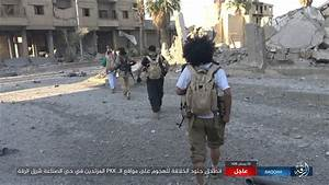 In pictures: Deadly raid by ISIS in Raqqa city leaves two ...